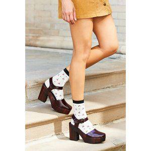 Kelsi Dagger Kendall Platform Heel in Oxblood 7